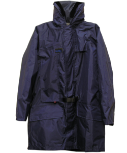 Seasafe Systems Mariner Automatic coat, with an Integrated fully automatic Life Jacket.  Made in Britain.