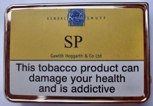 Gawith Hoggarth SP Snuff Tin. Made in England.