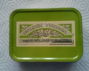 Vintage Golden Virginia Tin. From the internet 25/1/17