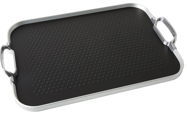 Kaymet black rubber tray.  Made in England.