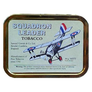 Samuel Gawith Squadron Leader pipe tobacco 50g. Made in England.