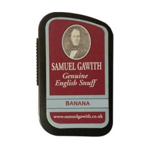 Samuel Gawith Banana Snuff, 10g. Made in England.