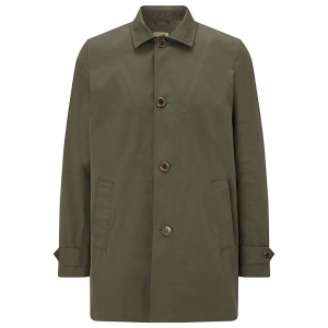 JOHN LEWIS & Co. Made in England (using Italian fabric) Mac, Khaki