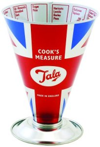 Tala Union Jack cook's measure. Made in England.