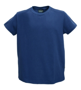 Josery J706 Men's T-Shirt, Classic neckline. Fabric and garment made in UK.