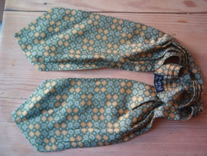 A vintage tootal cravat made in England.