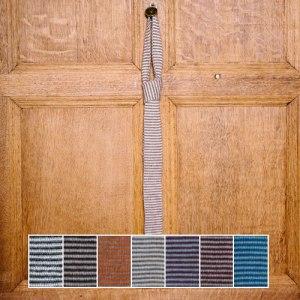 Alpaca Stripy Tie by Jarbon John Arbon Textiles