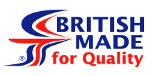 British Made for Qulaity logo.