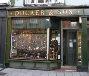 Ducker and Son, Turl Street, Oxford, December 2009