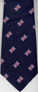 Jacquard Weaving Company Union Flag Men's Neck Tie, UK Manufactured