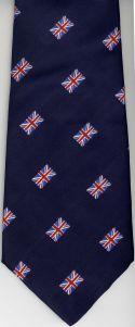 Jacquard Weaving Company Union Flag Men's Neck Tie, UK Manufactured