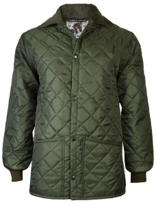 Lavenir Quilted Riding Jacket, Green. Made in England.