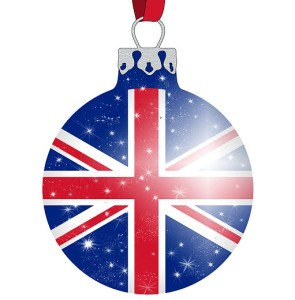 UK christmas bauble