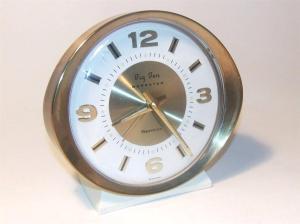 vintage Westclox Big Ben Repeater Alarm clock, Made in Scotland. Front view