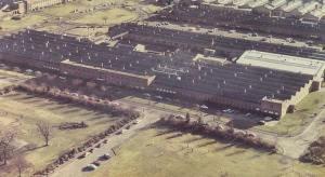 The Westclox Factory in Dumbarton, Scotland (undated).