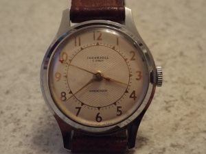 Vintage mens Ingersoll Hand Wound Watch. Made in Great Britain. Pre 1970?