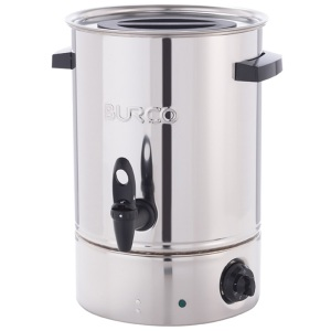 Burco MFCT10ST manual fill electric water boiler 10 litre 444448528. Made in Britain.