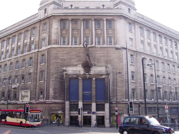 Lewis' Liverpool - From 1856 to 2010 it was the flagship store of the Lewis's empire.