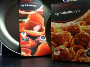 Some Pots and Pans by Sainsbury's are made in the West Midlands.