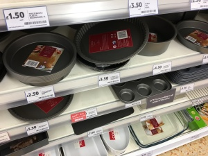 Some own-brand baking and oven tins in Tesco are made in Great Britain.