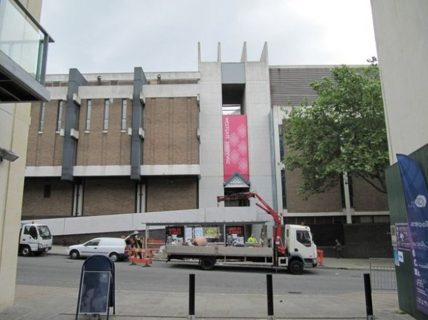 The side entrance to Westgate shopping centre Oxford. July 2009