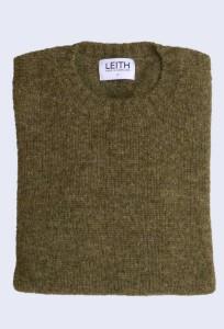 Leith Artichoke Shetland Jumper. Made in Scotland, using 100% Shetland wool.