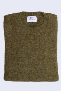 Leith Artichoke Shetland Jumper. Made in Scotland, using 100% Shetland wool.