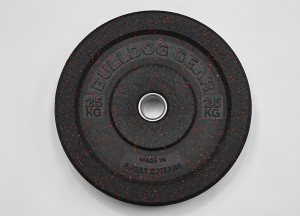 Bulldog Gear Ballistic Bumper Plates. Made in Great Britain.