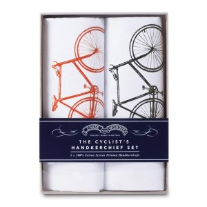 THE CYCLIST'S HANDKERCHIEF SET. Proudly Made in Britain by Chase and Wonder