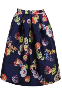 Henry Hunt EMMA FLORAL PUFF SKIRT. Made in the UK.