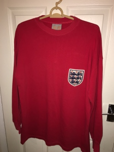 Toffs England jersey. Made in the UK.