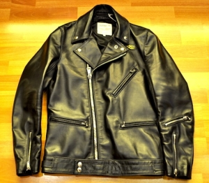 Lewis Leathers Black Horsehide Cyclone 441T
