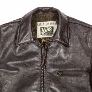 Aero leather jacket for Harry Stedman (see below). Made in Scotland.