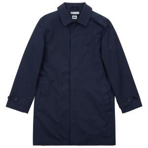 Community Clothing Men's Navy Raincoat. Made in England.