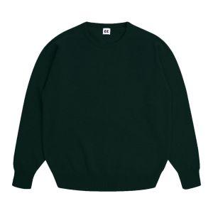 Community Clothing Women's Dark Green Crew Neck Jumper