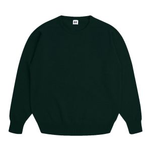Community Clothing Women's Dark Green Crew Neck Jumper
