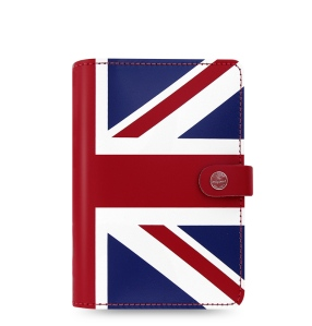 FILOFAX THE ORIGINAL ORGANISER, SPECIAL EDITION Personal Jack Leather product code: 16-022502. Made in England. Front view.