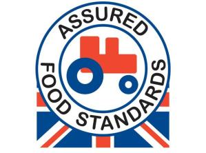Red Tractor logo. The top part of the logo indicates quality assurance, whilst the flag part of the logo indicates provenance. Only Red Tracor logos carrying the Union Flag are British made; other flags indicate a food is foreign produced and / or processed.