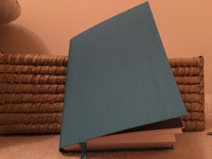 Paperchase A6+ Flexi Teal Notebook. Made in UK.