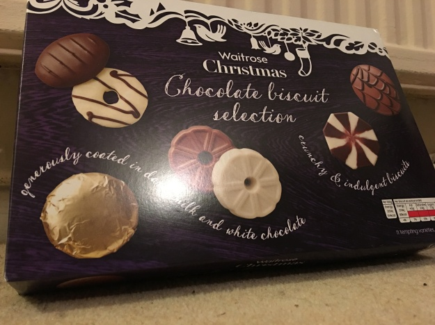 Waitrose Christmas 2015 Chocolate Biscuit Selection - again there is no country of origin labelling on this Waitrose product.