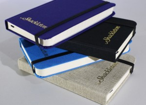 Shackleton Handmade Cloth-Bound Journals. Made in England.