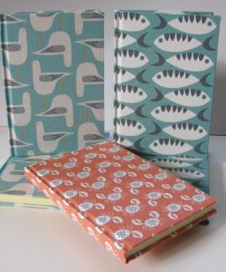 Handmade Wales Beside the Sea Notebooks. Made in Wales.