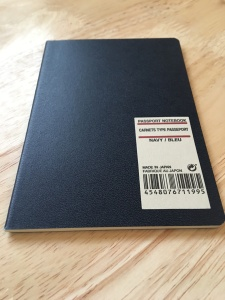 Muji Passport Notebook. Made in Japan.